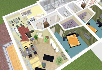 arcon 3d home designer free. Black Bedroom Furniture Sets. Home Design Ideas
